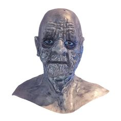 This fun Deluxe White Walker latex mask will make you stand out from the crowd at your next Game of Thrones gathering. Scary Halloween Masks, Scary Mask, Latex, Lion Sculpture, Fancy, Statue, Crowd, Art, Art Background