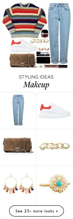 """""""5. mad"""" by datumacias on Polyvore featuring Marc Jacobs, Alexander McQueen, Topshop, Zadig & Voltaire, Chan Luu, Charlotte Russe, Suzanne Kalan, Christian Dior and GUESS"""