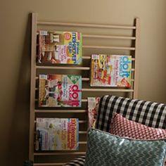 Estanteria para revistas