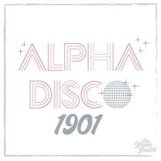 Let's go to the disco Custom Bid Day designs that are cute & completely your chapters style!
