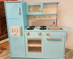 How to hack your way into this kidkraft play kitchen makeover