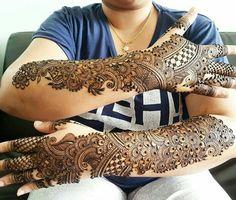 Full Mehndi Designs, Mehndi Design Pictures, Wedding Mehndi Designs, Beautiful Henna Designs, Dulhan Mehndi Designs, Mehndi Images, Tattoo Designs, Mehendi, Henna Mehndi