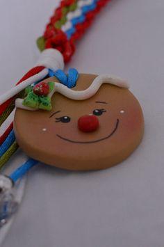 Llavero galleta Navidad