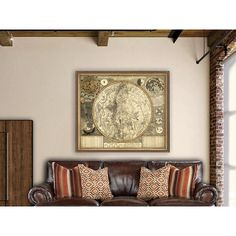 Celestial Map Astrology Map Poster Large Constellation Map... ($32) ❤ liked on Polyvore featuring home, home decor, wall art, grey, home & living, home décor, wall décor, astrology posters, astrology signs and map home decor