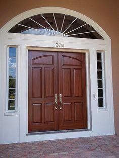 Paint garage doors on pinterest painted garage interior for Steel garage doors that look like wood
