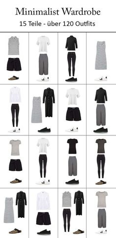 Minimalismus im Kleiderschrank - Capsule Wardrobe x Fair Fashion - // Capsule Wardrobe : Tips and Collagen - Mens, Women's Outfits Fashion Mode, Look Fashion, Fashion Tips, Fashion Trends, Fashion Basics, Travel Fashion, Travel Style, Trendy Fashion, Fashion Ideas