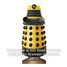 Doctor Who Yellow Eternal Dalek Monitor Mate Bobble Head    http://www.entertainmentearth.com/prodinfo.asp?number=BBP12012=LY-012045602