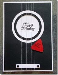 Good card for a muso Homemade Cards For Men, Homemade Greeting Cards, Greeting Cards Handmade, Hippie Birthday, Birthday Music, Man Birthday, Kids Cards, Men's Cards, Musical Cards