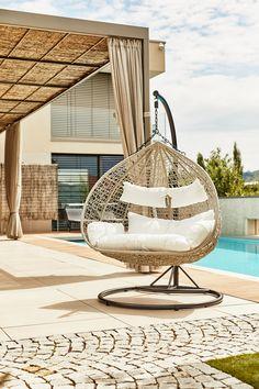 Indoor Outdoor, Egg Chair, Bauhaus, Hanging Chair, Tulum, Ibiza, Furniture, Design, Home Decor