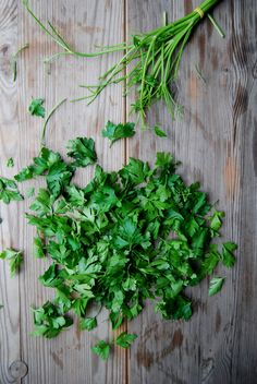 Parsley, Tomato and Mint Salad | eat in my kitchen