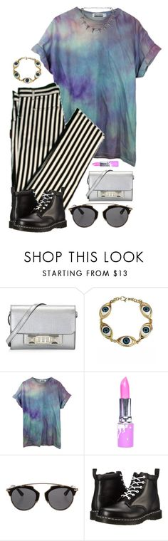 """Beetie"" by brie-the-pixie ❤ liked on Polyvore featuring Proenza Schouler, Lime Crime, Christian Dior and Dr. Martens"