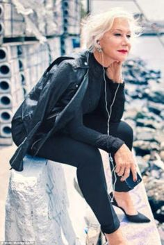 I pray I look like Helen Mirren when I'm 70.