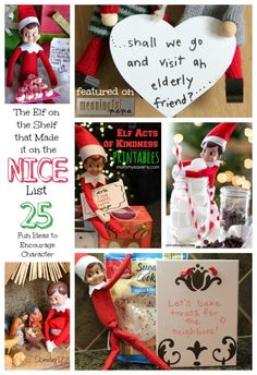 Elf on the Shelf that Made the Nice List - Christmas Character Development
