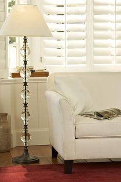 Marston Crystal Floor Lamp