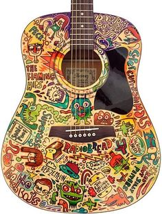 #LOVE My Facebook page: https://www.facebook.com/Godsdirt Art Guitar