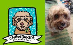 """Chewbarka!"" aka ""Fuzzy Face"" : a Cavalier King Charles / Poodle Mix. Custom Pet Portrait by Anne Leuck Feldhaus"