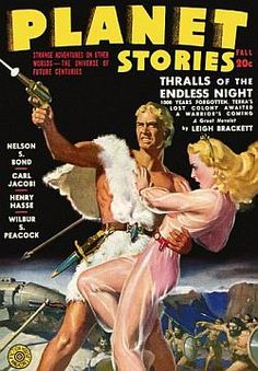 Vintage Posters - Planet Stories Fall 20c Vintage Science Fiction Magazine Covers