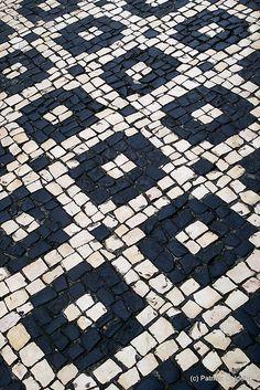 traditional portuguese pavement
