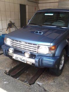Mitsubishi Pajero GLS 2.8 Diesel Turbo Mec. 1993 Diesel Curitiba PR | Roubados Brasil