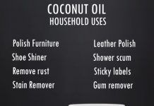 10 household uses for coconut oil