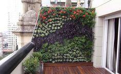Végétaliser les murs sur un balcon