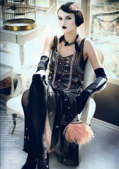 Harper's Bazaar Jazzy Mood