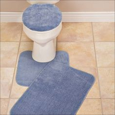 Jcpenney Wall To Wall Bathroom Carpet - Toilets say a good deal regarding the style of the homeowner. Bathroom Carpet, Bathroom Red, Bathroom Rug Sets, Bathroom Furniture, Blue Bath Mat, Best Carpet, Red Rugs, Bath Mat Sets, Carpet Runner