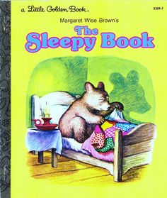 The Golden Sleepy Book By Margaret Wise Brown Little No Writing Inside