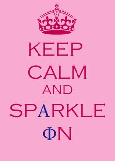 Made this on photoshop today. Sparkle On Alpha Phis!