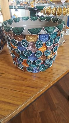 Upcycle, Beading, Kids, Crafts, Recycling, Natal, Planters, Flowers, Lantern