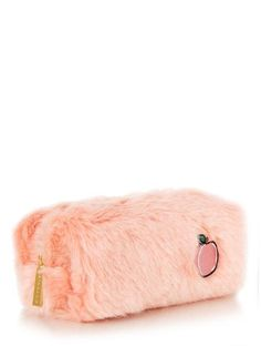 Get organised & shop our range of cute stationery with the Peach Fur Pencil Case at Skinnydip London.
