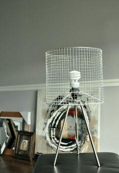 Wire frame 1 lamps pinte 11 ides peu coteuses pour transformer un vieil abat jour keyboard keysfo Gallery
