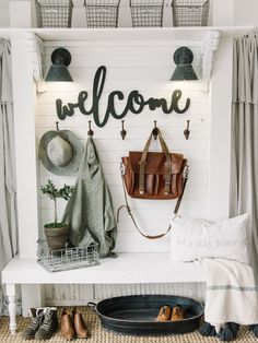 After we saw your embrace for the last What's New In Farmhouse Home Decor it is now decided that it will be a regular…so here is Volume 2 and we sure hope you enjoy! Today you are going to see all different kinds of DIY Projects Like an amazing Upcycled Shutter Kitchen Island…Gorgeous Farmhouse Centerpieces …