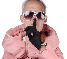 The grandpa who became a fashion muse for his granddaughter's brand Yecoo