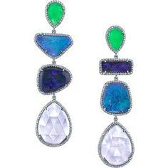 Irene Neuwirth Opal Earrings by annak. Collect