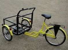 Velo Retro, Velo Vintage, Velo Tricycle, Bicycle Cart, Scooter Drawing, Velo Cargo, Bike Food, Reverse Trike, Bike Trailer