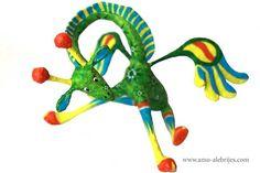 imagenes de alebrijes jirafa alas