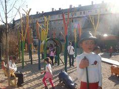 Fairtale Playground, Millenaris Park, Budapest, Hungary