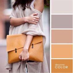 Сумка и одежда: 10 самых гармоничных цветовых сочетаний