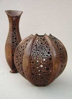 fine pierced wood turnings - Google Search