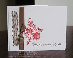 new stamp set, good for card sets--Stampin' Up! SU, Turtle Creations