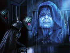 The Emperor and Darth Vader by Magali Villeneuve