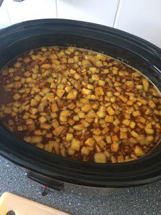 Een kruidige Indiase currysoep. .