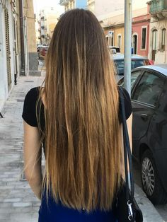 My long hair