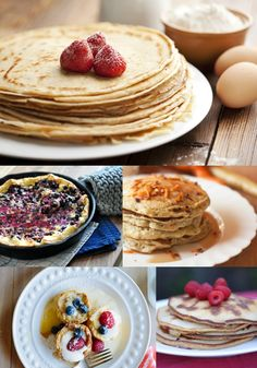 Who wants pancakes? I could eat pancakes every day! This post has a list of lots of different pancake recipes