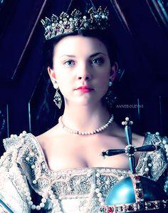 Natalie Dormer as Queen Anne Boleyn from The Tudors Anne Boleyn, Los Tudor, Tudor Era, Queen Anne, King Queen, The Other Boleyn Girl, Tudor Dynasty, Cinema Tv, Tudor Rose