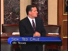 Sen. Ted Cruz Gives Remarks on Senate Floor