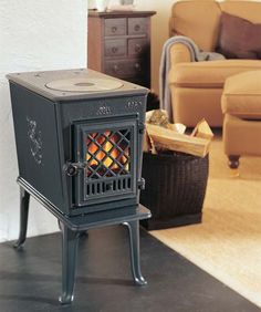 Tiny stove for a tiny house!