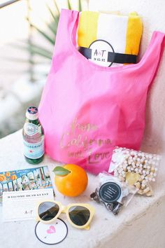 10 Thoughtful Items to Include in Wedding Guest Welcome Baskets - Acknowledge, appreciate, and welcome your guests with a welcome basket full of thoughtful gift items.