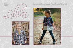 """Ebook+""""Lillian""""+/+Ebook+Bluse+von+Mariele++auf+DaWanda.com"""